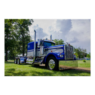 Kenworth W900A Poster