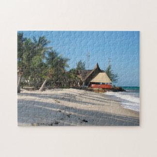 Kenya Beach House. Jigsaw Puzzle