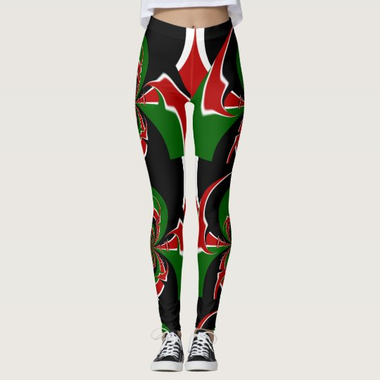 Kenya Beautiful Unleashed National Colours Banjuka Leggings