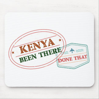 Kenya Been There Done That Mouse Pad