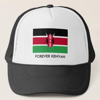kenya_flag02, FOREVER KENYAN Trucker Hat