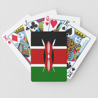 Kenya Flag Bicycle Playing Cards