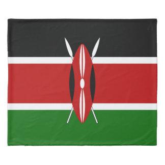 Kenya Flag Duvet Cover