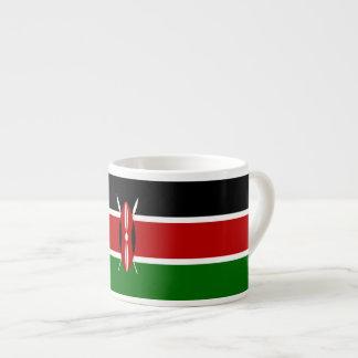 Kenya Flag Espresso Cup