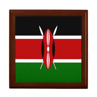 Kenya Flag Jewelry Box
