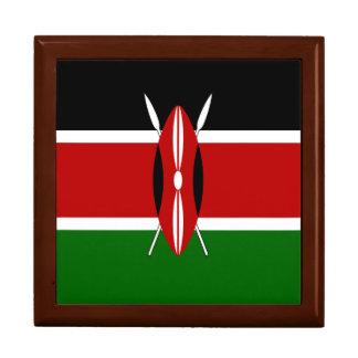 Kenya Flag Jewelry Boxes