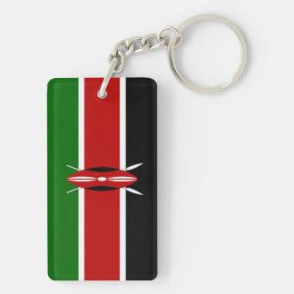 Kenya Flag Keychain