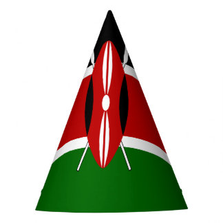 Kenya Flag Party Hat