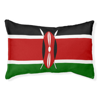 Kenya Flag Pet Bed