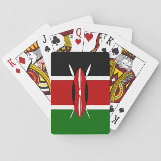 Kenya Flag Playing Cards