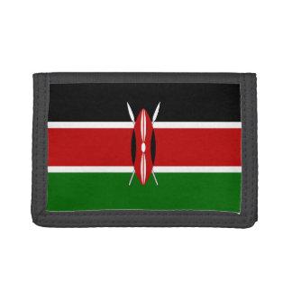 Kenya Flag Trifold Wallet