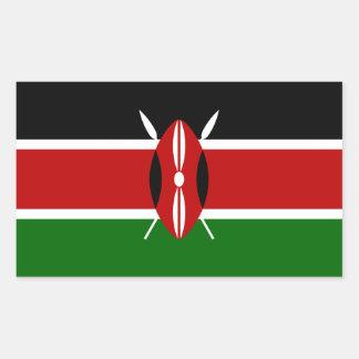 Kenya/Kenyan Flag Sticker