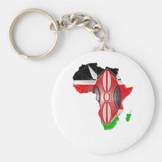 Kenya Keychain