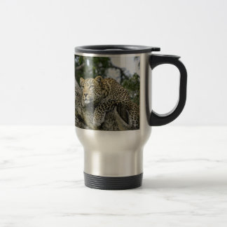 Kenya Leopard Tree Africa Safari Animal Wild Cat Travel Mug