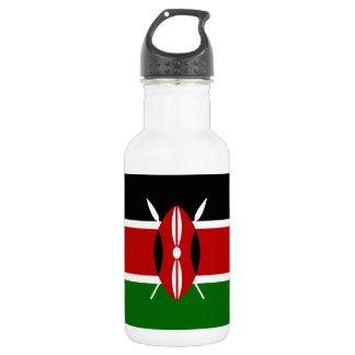 Kenya National World Flag 532 Ml Water Bottle