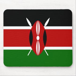 Kenya National World Flag Mouse Pad
