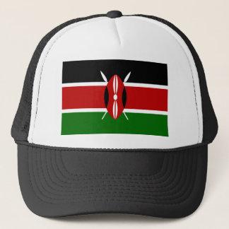 Kenya National World Flag Trucker Hat