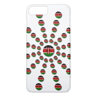 Kenya Patriotic national election motto design iPhone 8 Plus/7 Plus Case
