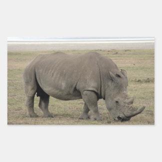 kenya rhino sticker