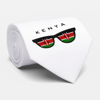 Kenya Shades custom text & color tie