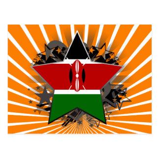Kenya Star Postcard