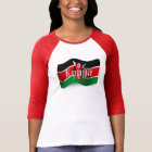 Kenya Waving Flag T-Shirt