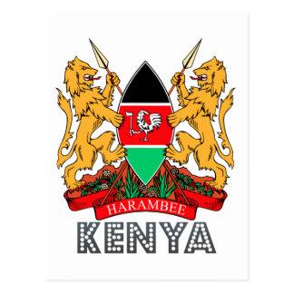 Kenyan Emblem Postcard