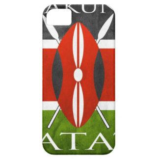 Kenyan Flag- Hakuna Matata iPhone 5 Covers