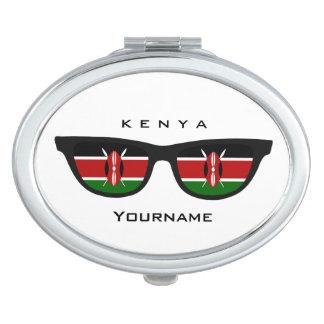 Kenyan Shades custom pocket mirror Compact Mirror