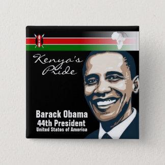 Kenya's Pride 2 Inch Square Button
