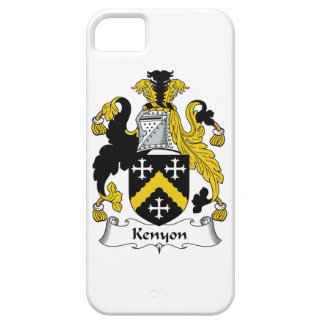 Kenyon Family Crest iPhone 5 Cover