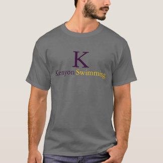 Kenyon Swimming T-Shirt