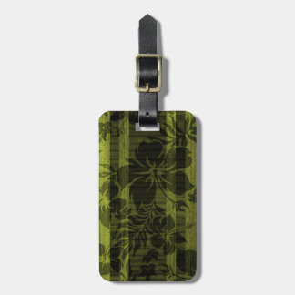 Keokea Beach Faux Wood Surfboard Luggage Tags