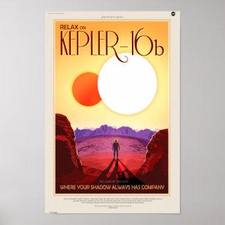 Kepler 16b poster