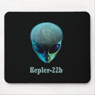Kepler-22b Alien Mouse Pad