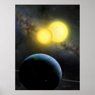 Kepler-35 Poster