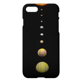 Kepler-90 Star System iPhone 8/7 case