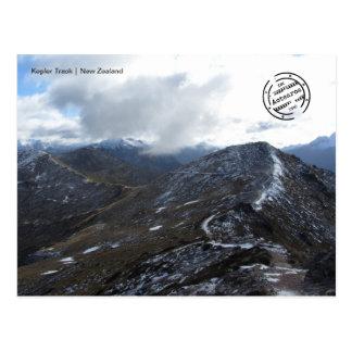Kepler TRACK 2 (New Zealand) postcard