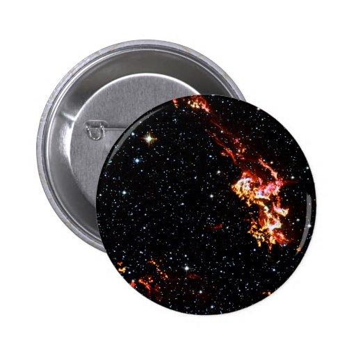 Kepler's Supernova Remnance Pinback Button