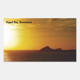 Keppel Bay sunrise sticker