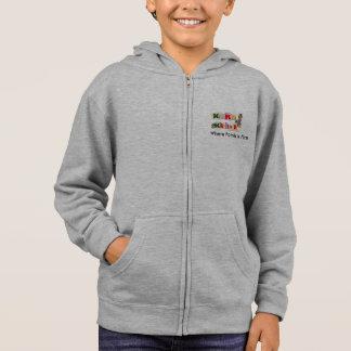 Kera & Kaylee's Zippered Sweatshirt