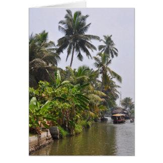 Kerala Backwater Card