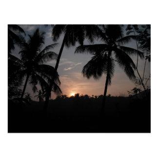 Kerala Sunrise Postcard