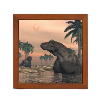 Keratocephalus dinosaurs - 3D render Desk Organizer