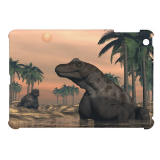 Keratocephalus dinosaurs - 3D render iPad Mini Covers