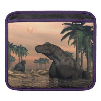 Keratocephalus dinosaurs - 3D render iPad Sleeve