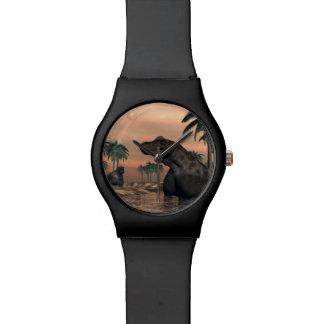 Keratocephalus dinosaurs - 3D render Watch