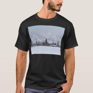 Keremeos BC ranch in Winter T-Shirt