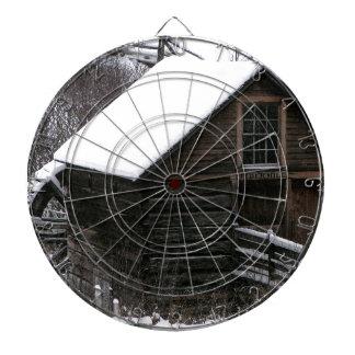 Keremeos Grist Mill in Winter Dart Boards
