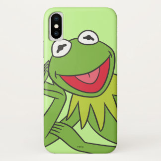 Kermit Laying Down iPhone X Case